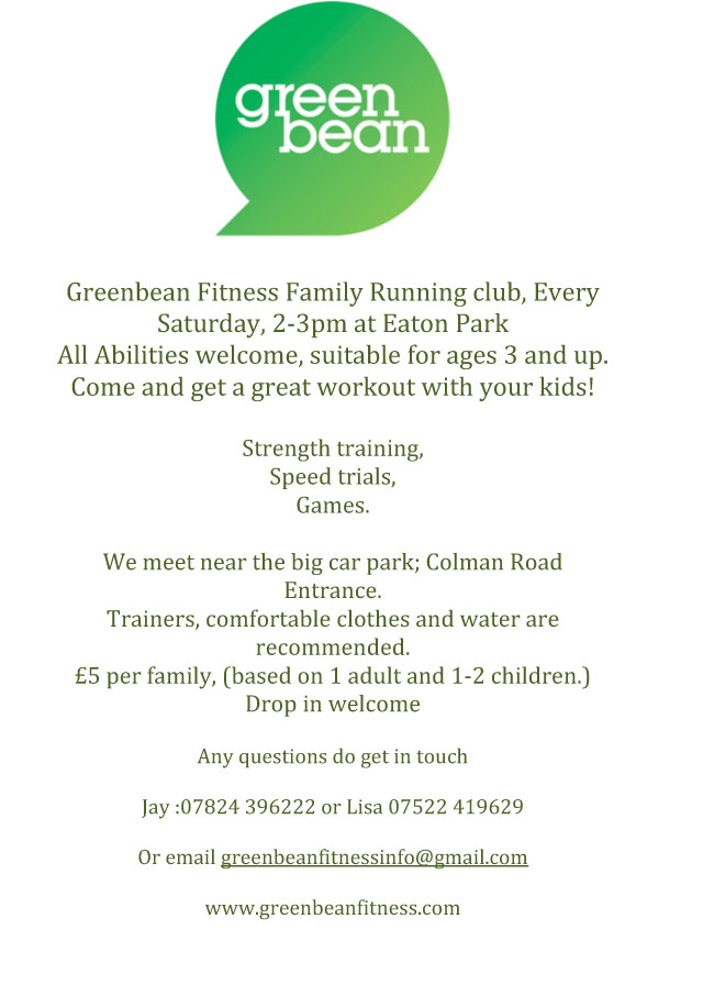 Greenbean Fitness Family Running Club