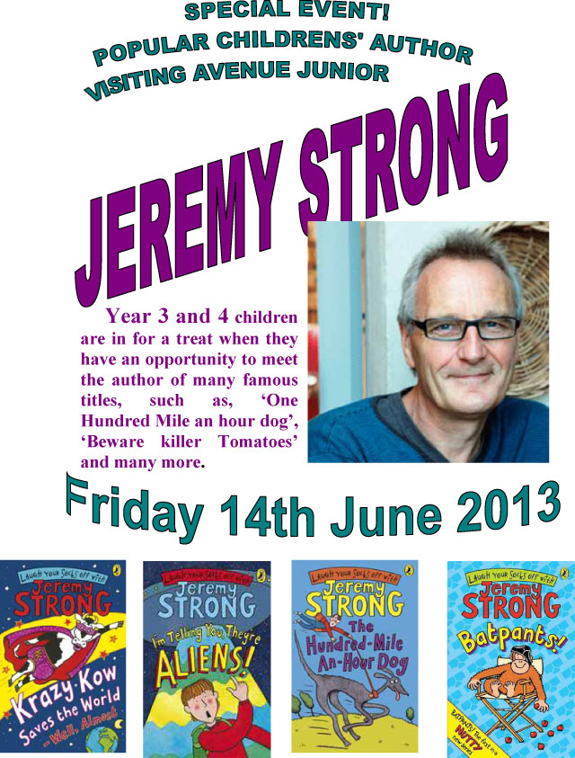 jeremy strong's first book