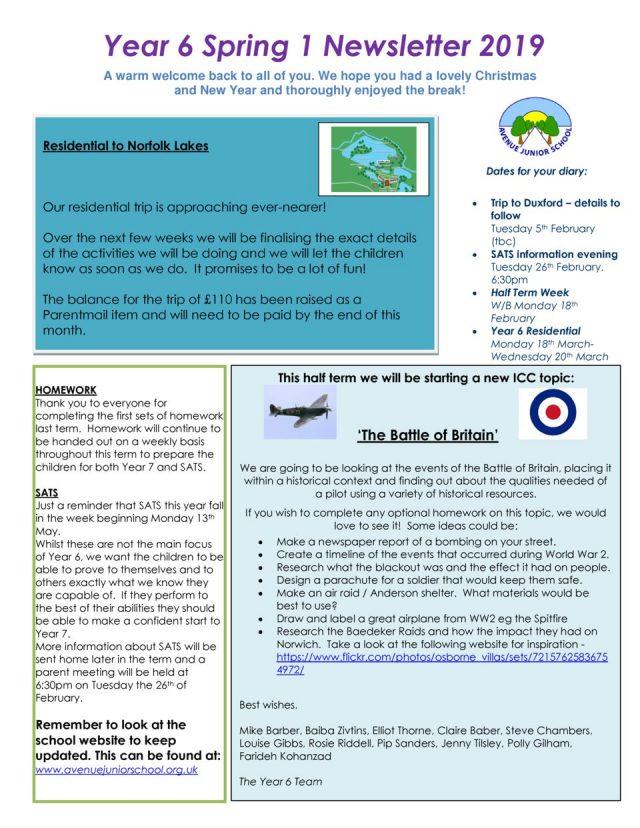 thumbnail of Newsletter – Spring 1