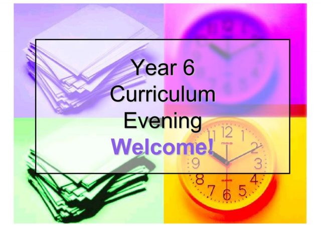 thumbnail of Year 6 curriculum evening 2019-20