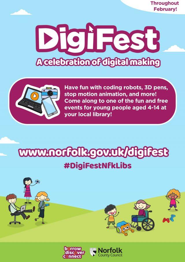 DigiFest leaflet